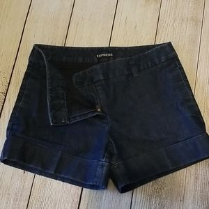 Express Jean Shorts with Pockets